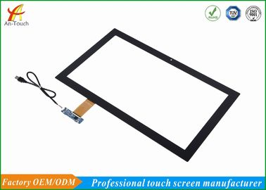 China Transparente kapazitive Abdeckungs-Linse des Spiel-Touch Screen Platten-21,5 Zoll-3.0mm usine