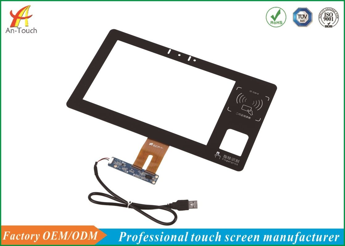 China 10,1 kapazitiver Touch Screen, Industrie-Noten-Anzeigetafel 0.7mm ITO-Glas usine