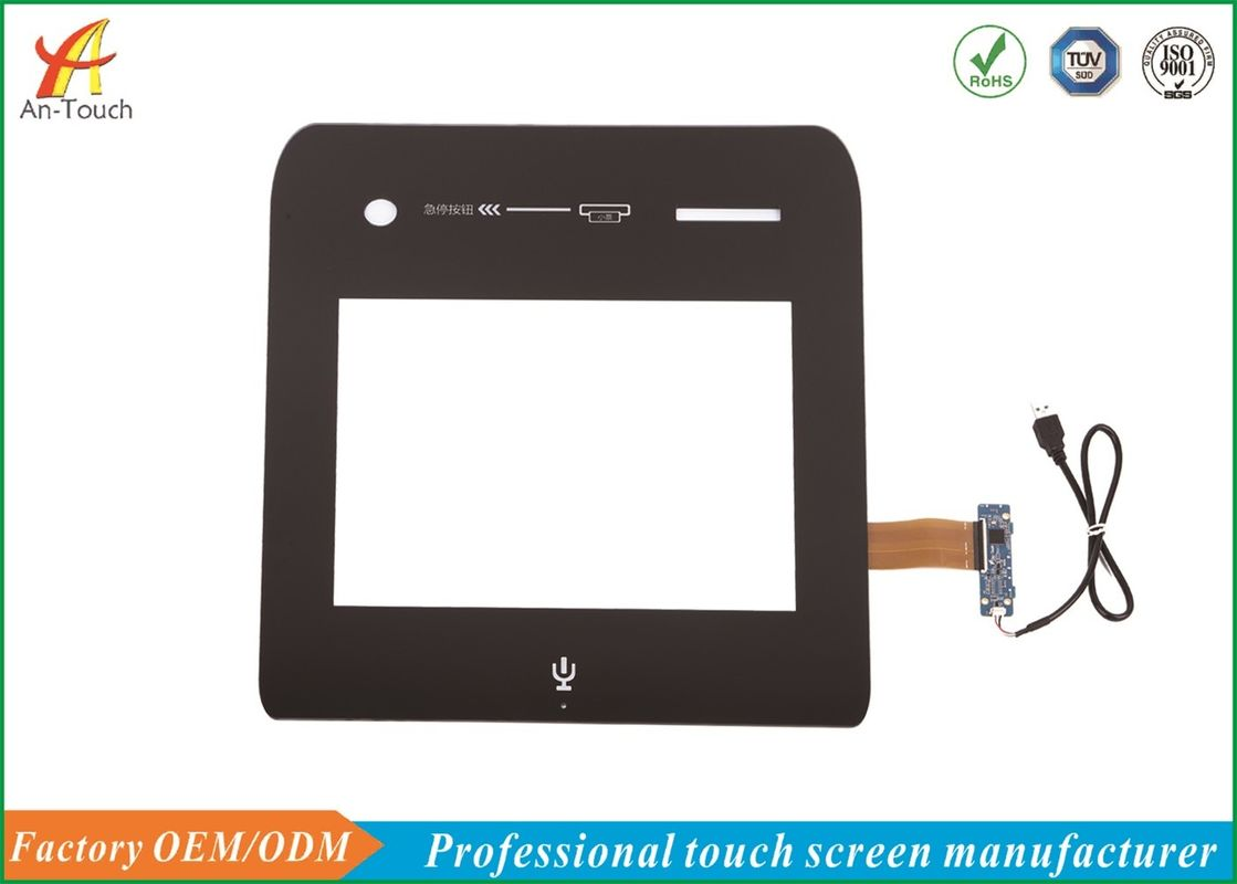 Custom Design Waterproof Touch Panel 15 Inch For LCD Industrial Touch Monitor