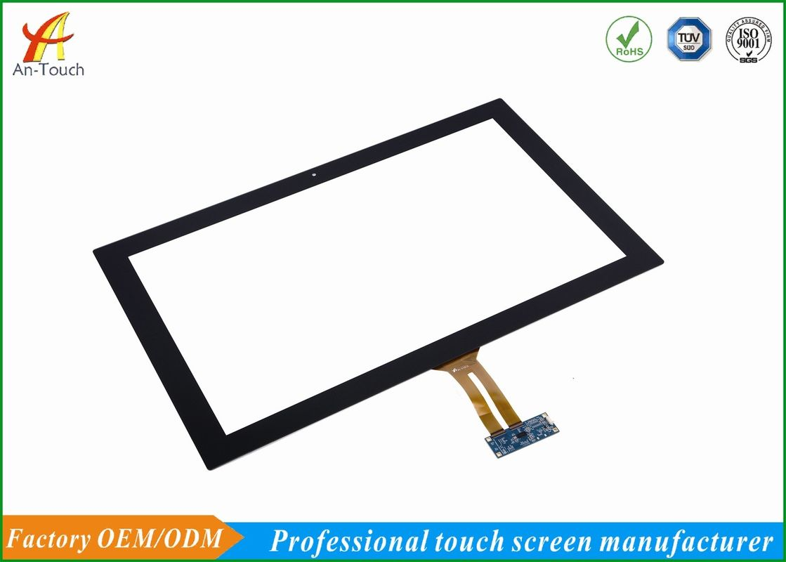 Custom Usb Touch Display Panel , Large Flat Panel Touch Screen 23.6 Inch