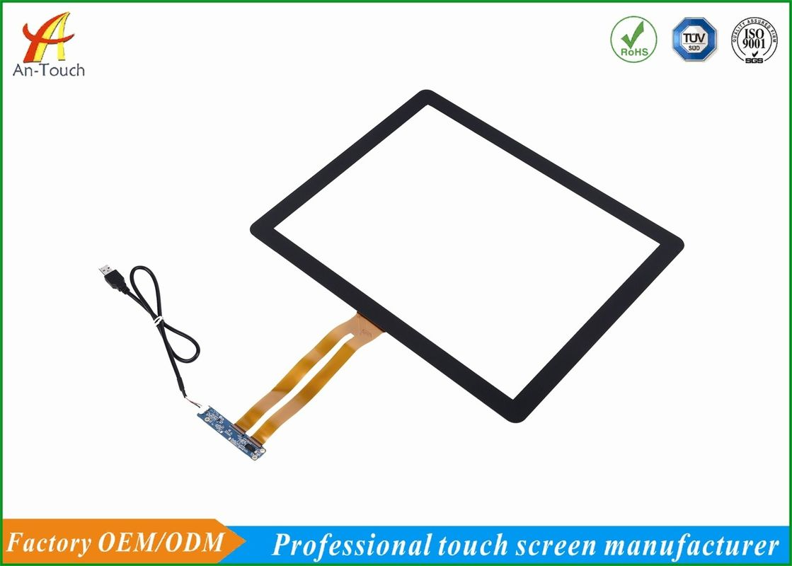 High Sensitive Transparent Glass Touch Panel , 17 Inch Touch Screen Panel