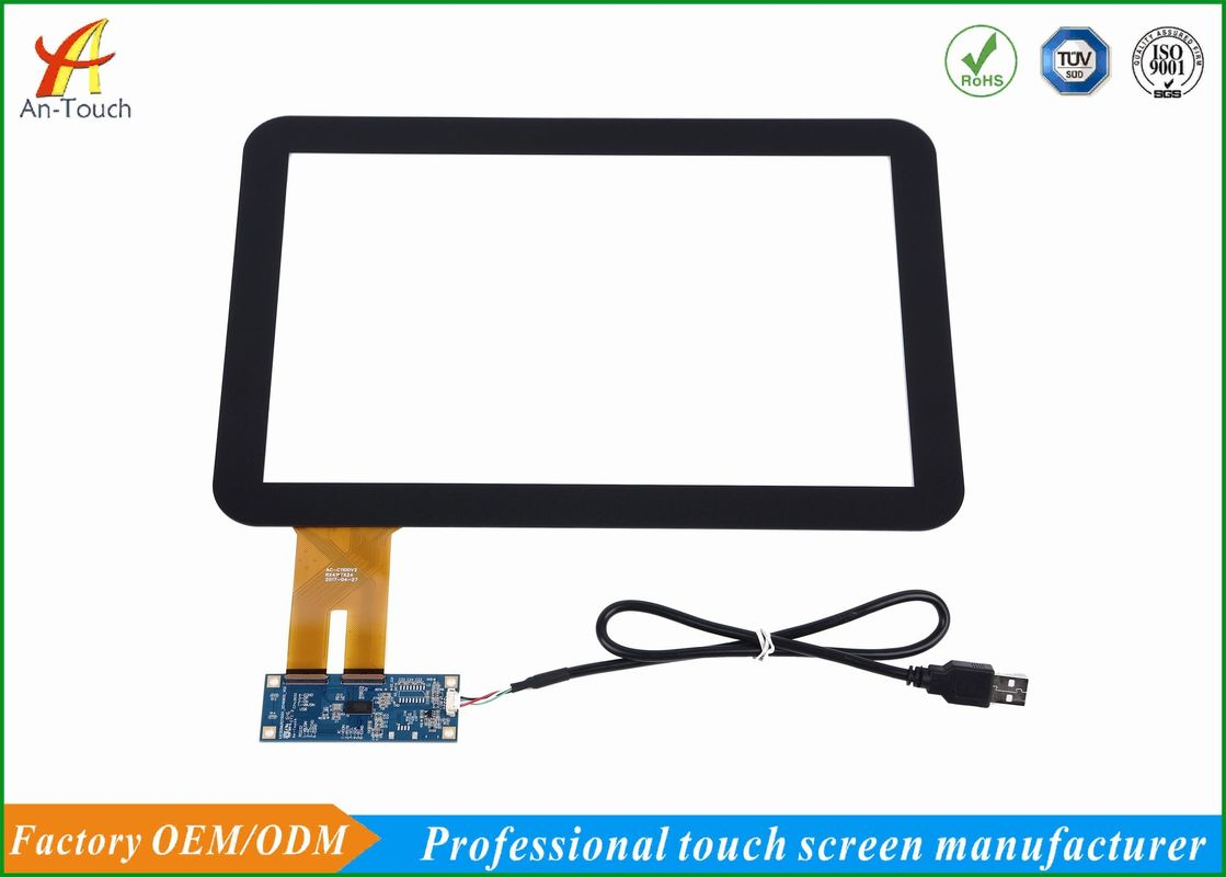 China Kundenspezifischer industrieller Platten-PC-Touch Screen, 12,1 External Usb-Touch Screen usine