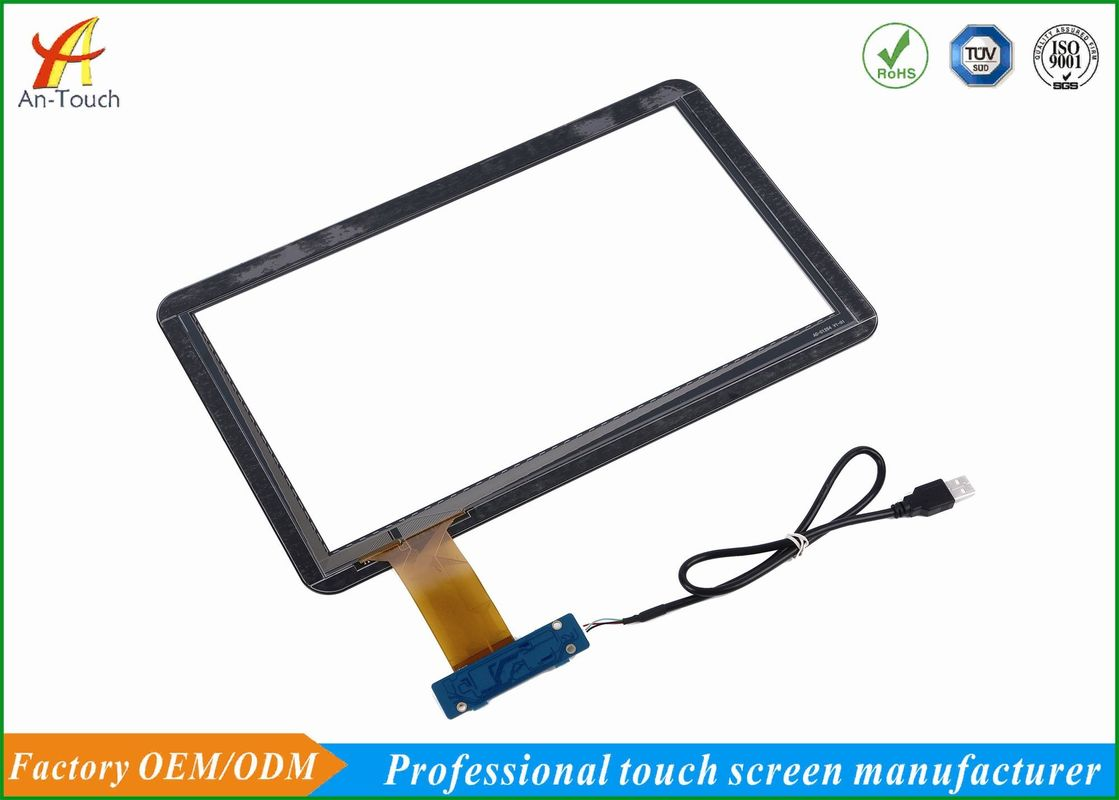 Free Driver USB Game Touch Screen Panel 14 Inch 86% Min Transmittance For Game Machine