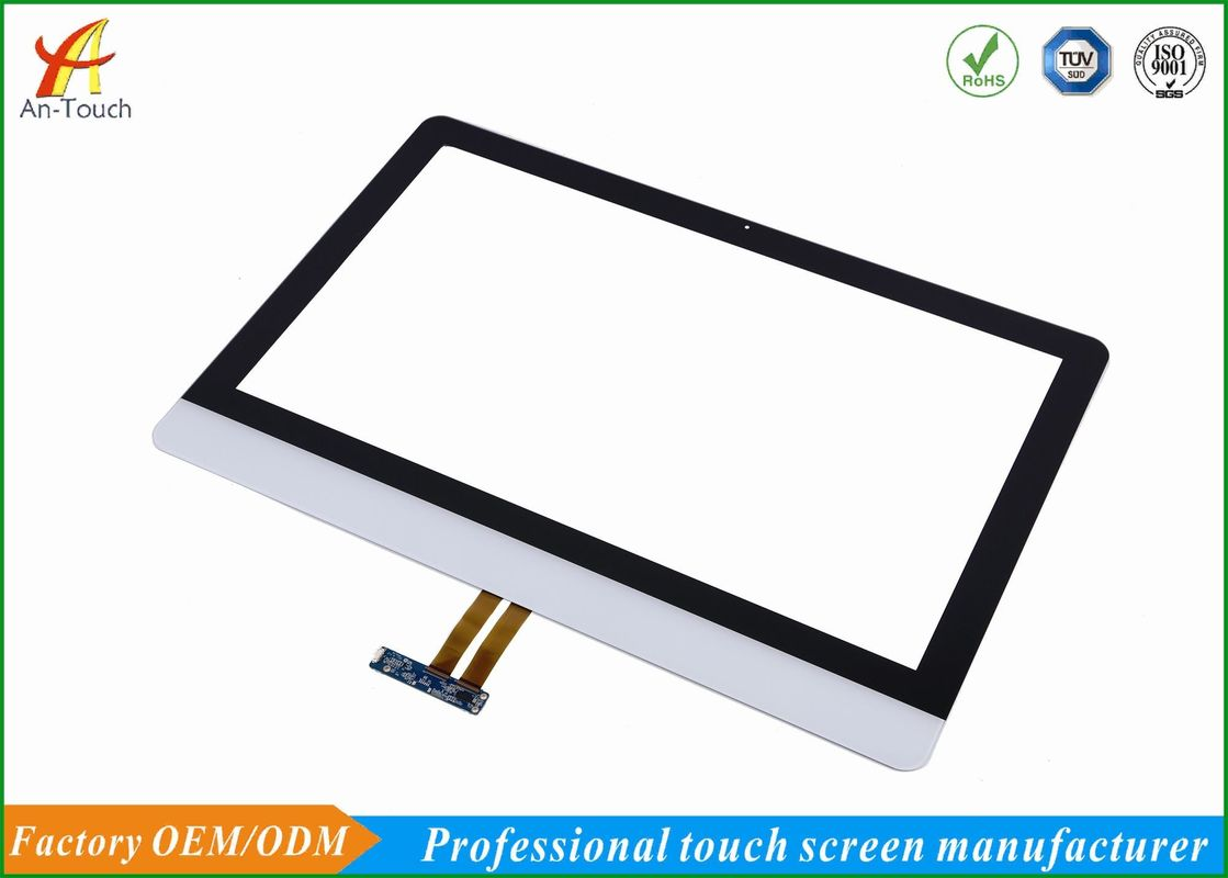 High Accuracy Windows Touch Panel , 23.6 Inch Industrie Touch Panel White Color