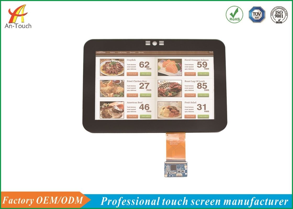Unique CTP Lcd Capacitive Touchscreen 10.1 Inch For Self - Help Ordering Machine