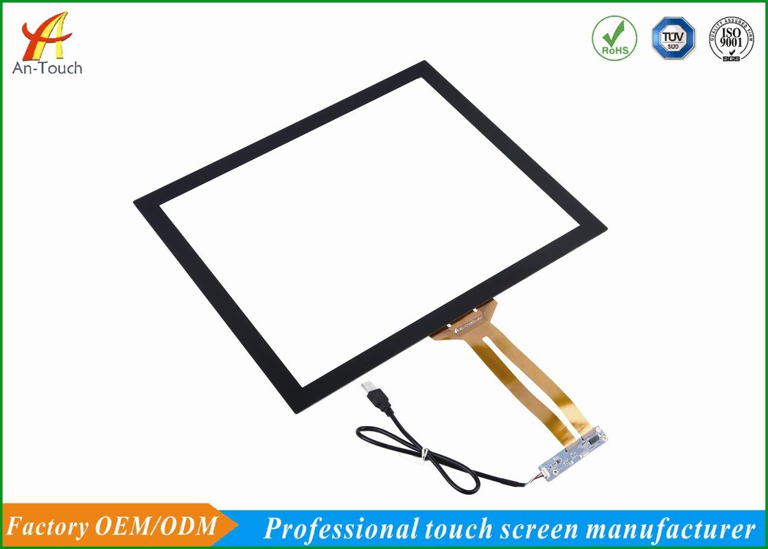19 Inch Capacitive Windows Touch Panel , Plug And Play With USB Input