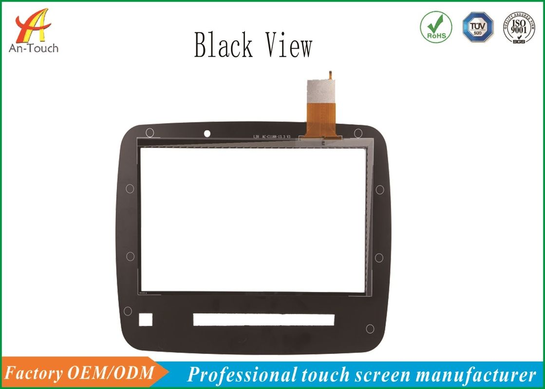 Black 13.3 Inch Car Touch Panel IIC Connector For Car GPS Navigation