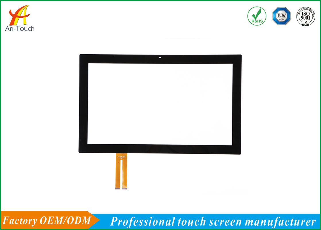 Glass Capacitive Touchscreen Display / Durable 21.5 Inch Touch Screen