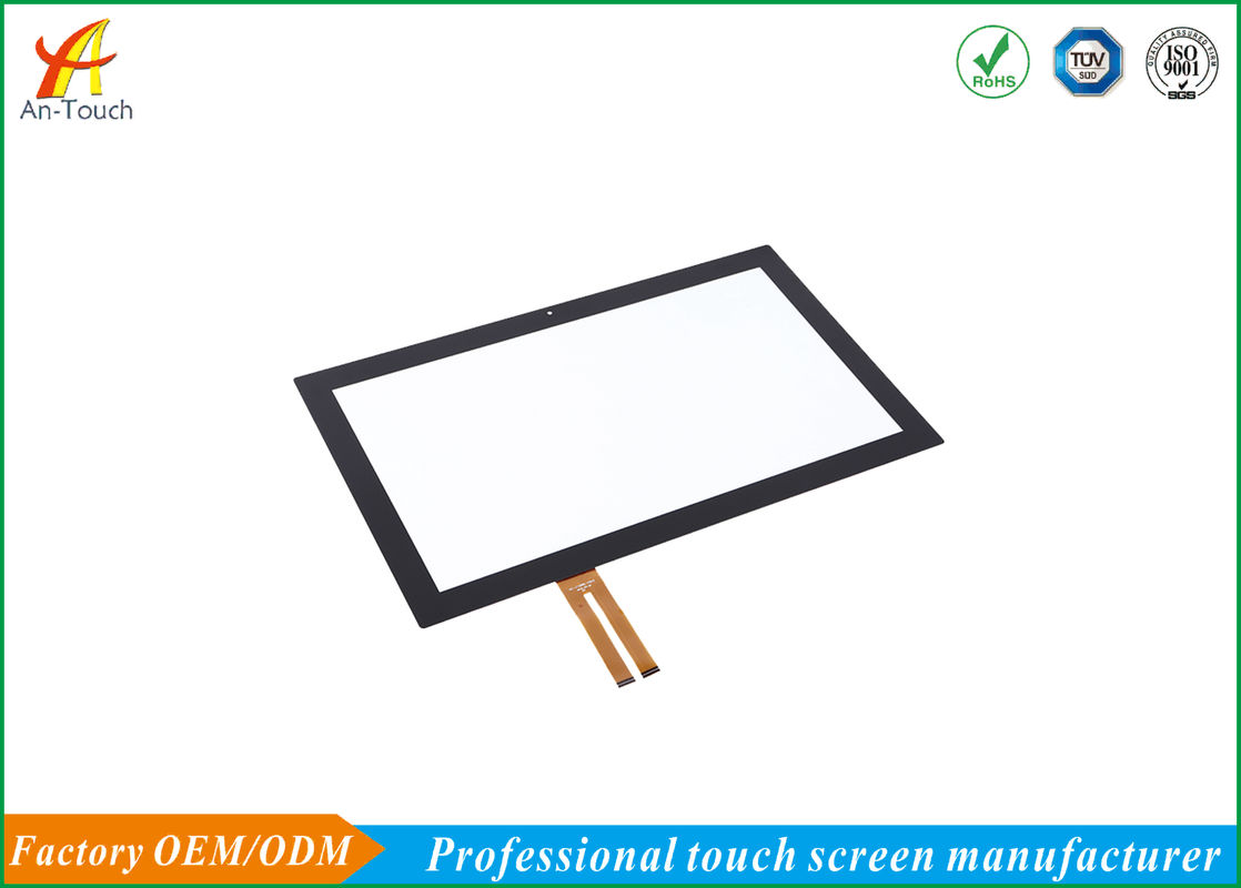 Small Custom Capacitive Touch Panel / Square Monitor Pc Touch Screen
