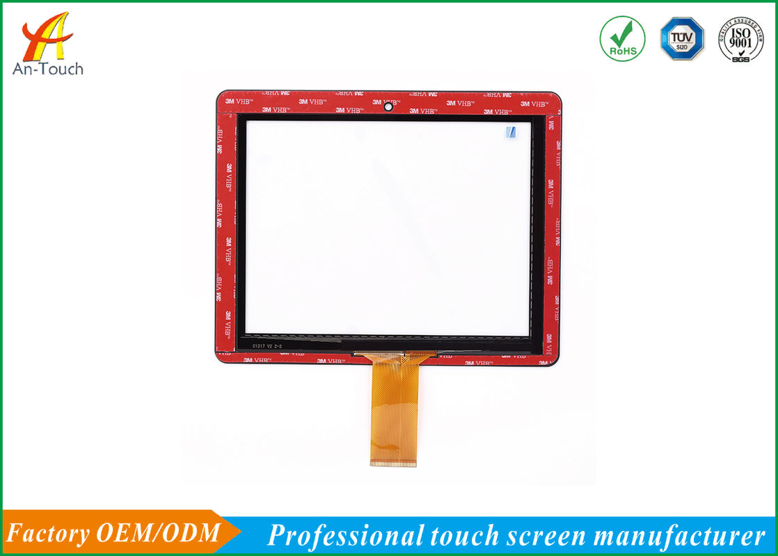 Transparent POS Computer Touch Screen / LCD Touch Sensitive Display