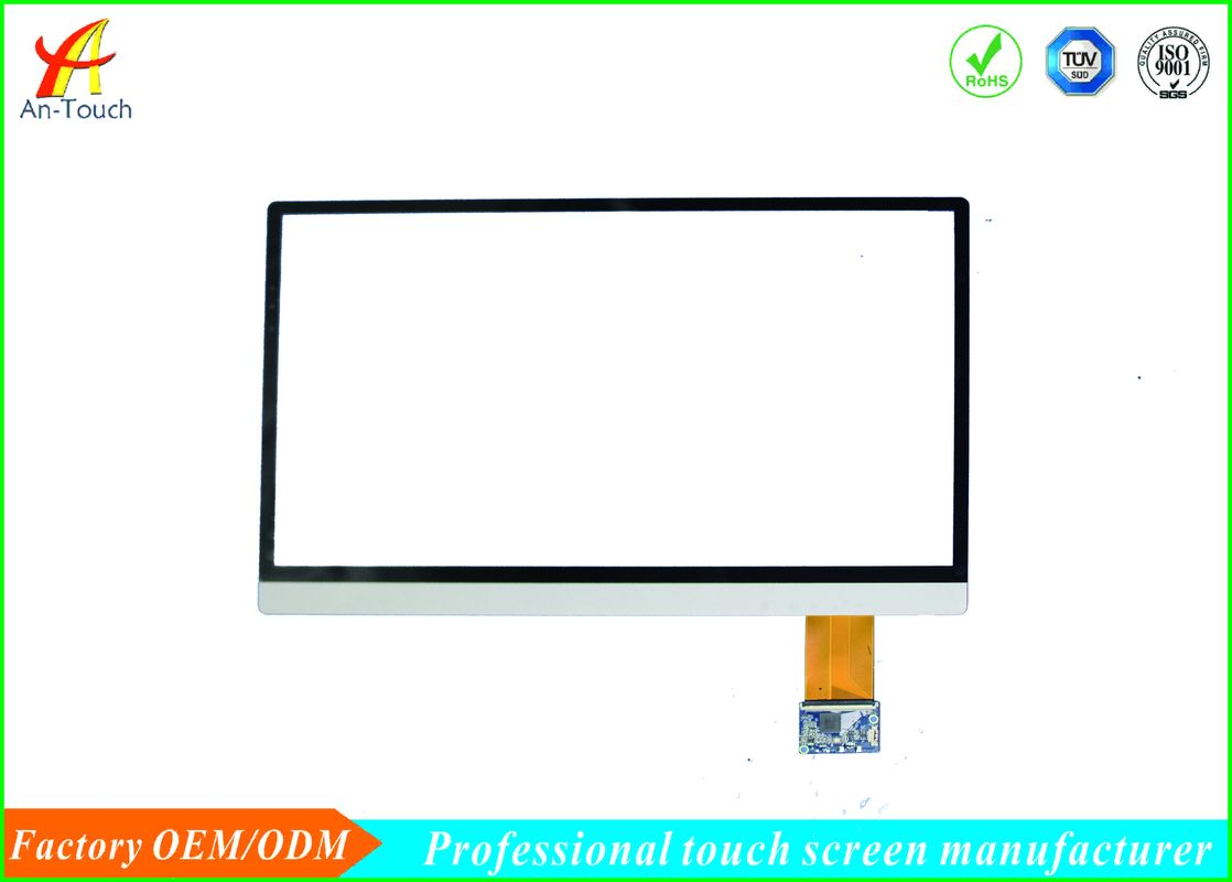 Commercial USB Capacitive Touch Screen , Multi Touch Sensitive Panel